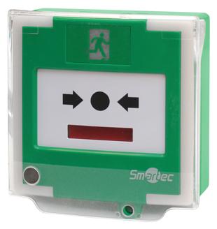 Новое устройство экстренной разблокировки двери Smartec ST-ER126DMLS-GN с сигнализацией положения защитной крышки