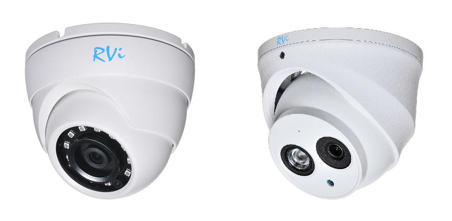Новые мультиформатные камеры RVi первой серии